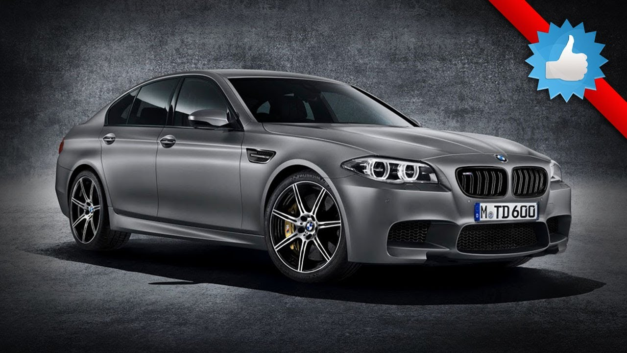 2015 BMW M5 30th Anniversary Edition 30 Jahre M5  YouTube