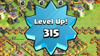 Level 315 with 74,000 XP, How to Level Up Fast - Clash of Clans
