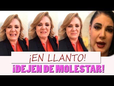 Entre lagrimas Erika Buenfil responde a Alejandra Ávalos DIRECTO COMPLETO
