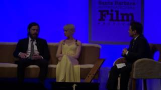"SBIFF 2017 - Casey Affleck & Michelle Williams Discuss The Hardest ""Manchester By The Sea"" Scenes"