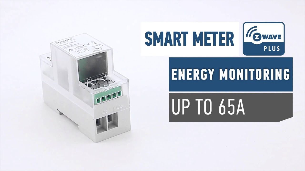 Qubino Smart Meter Z Wave Plus Youtube