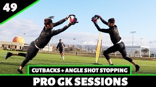 Shot Stopping + Cutbacks | Goalkeeper Training | Pro Gk