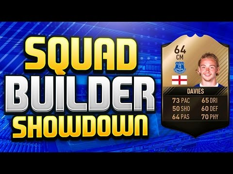 FIFA 17 SQUAD BUILDER SHOWDOWN!!! LEGEND TOM DAVIES w/ AJ3!!