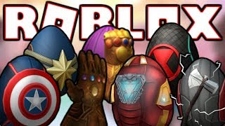 [EVENT] HOW TO GET THE 5 AVENGERS EGGS + INFINITY GAUNTLET! | ROBLOX Egg Hunt 2019