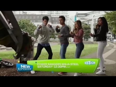 TELETOON (2017) - Power Rangers Ninja Steel New Episode Preview