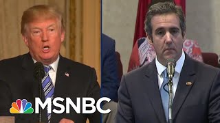 Listen To Tape Of Michael Cohen Making Threats For Donald Trump | The Beat With Ari Melber | MSNBC