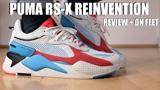 PUMA RS-X REINVENTION REVIEW + ON FEET