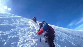 Ascension Mont Blanc du Tacul voie normale 4248m - TecTecTec XPRO 2 HD