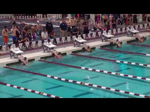 Julia Cook qualifies for US Olympic Trials 100 Backstroke 2016 US Sectionals