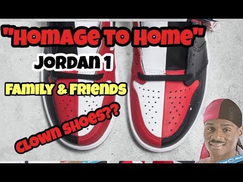 11884be0f57e Homage to Home Jordan 1 - First Thoughts - YouTube