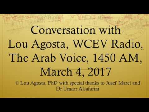 A Rumor of Empathy on The Arab Voice, WCEV Talk Radio, Chicago, March 04, 2017