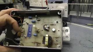 Harvin Pied Piper ice cream van amplifier repair.