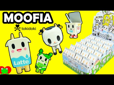 Moofia by Tokidoki Blind Milk Boxes