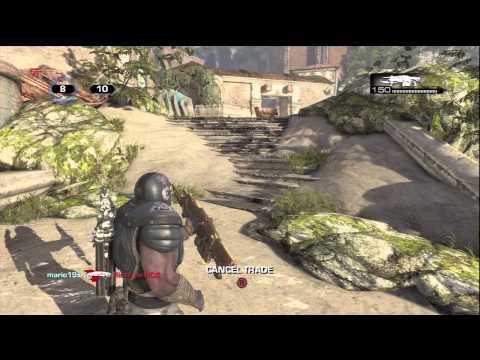 Gears of War 3 Beta: Live Team Deathmatch Gameplay + Character & Weapon Skin Unlocks