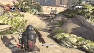 Gears of War 3 Beta: Live Team Deathmatch Gameplay + Character & Weapon Skin Unlocks
