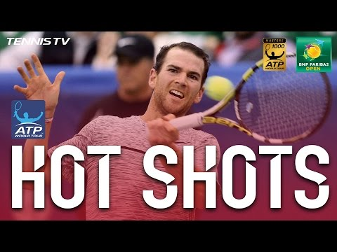 Hot Shot: Mannarino, Monaco In Epic Rally At Indian Wells 2017