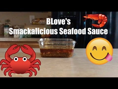 BLOVESLIFE SMACKALICIOUS SEAFOOD SAUCE ( MODIFIED VERSION)
