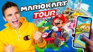 MARIO KART TOUR - Je Teste le Nouveau Jeu Mario Kart Mobile sur iPhone ! - Néo The One