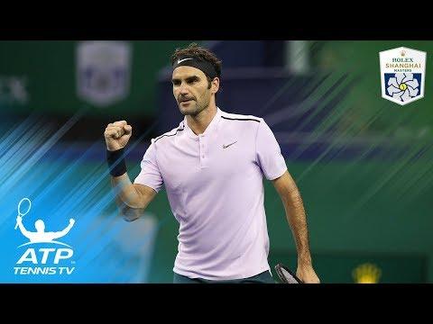 Top five shots in Roger Federer vs Richard Gasquet at Shanghai 2017