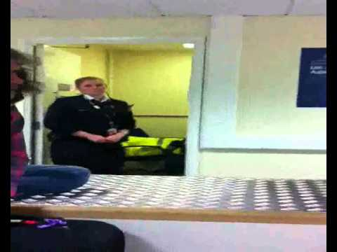 Real Life UKBA/Customs Stop & Search & Interview Part 2