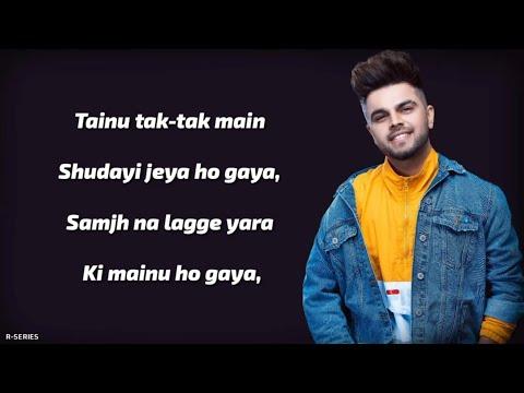 Karde Haan (Lyrics) - Akhil | Manni Sandhu | Romantic Song 2019