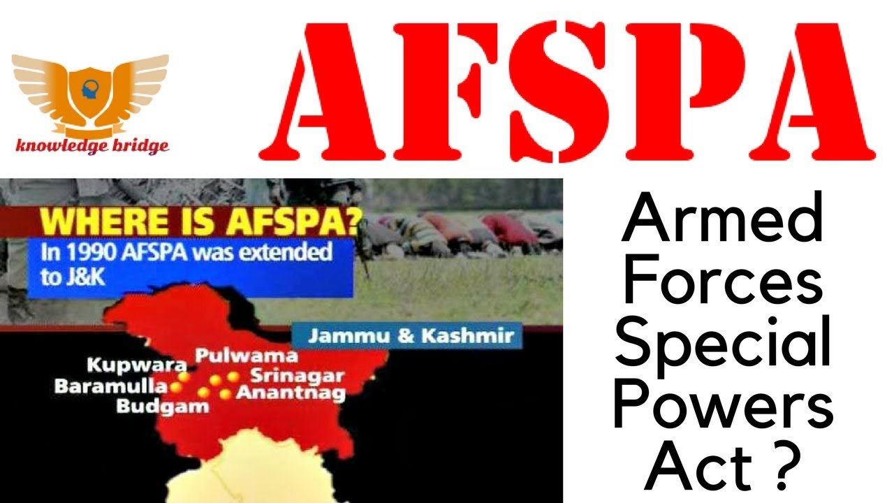 armed forces special powers act 1990