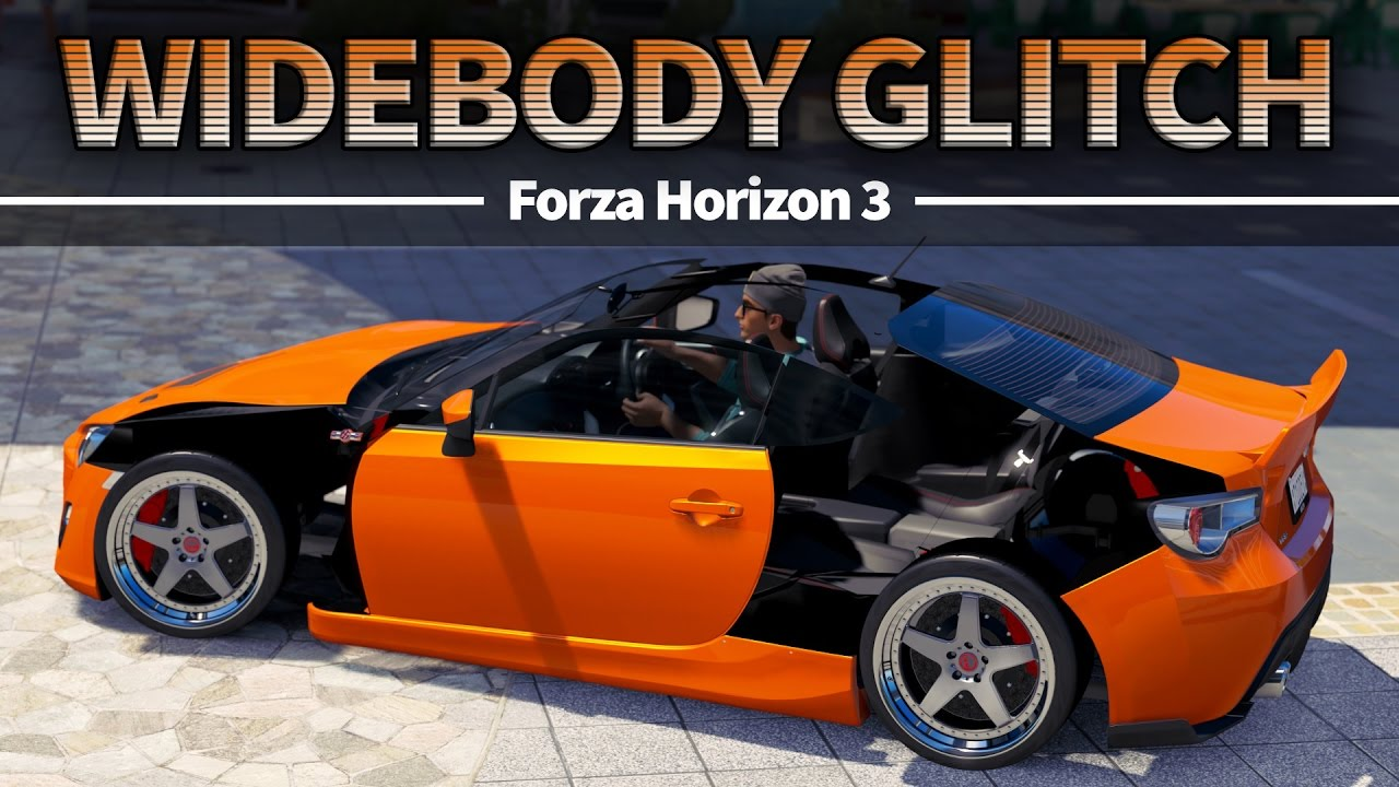 What Cars Can You Widebody In Forza