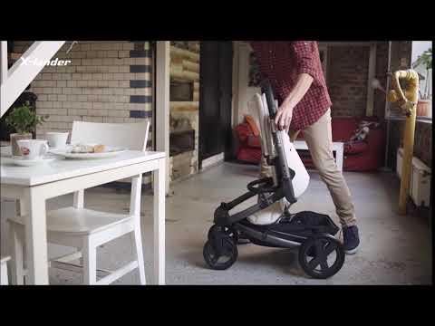 Детская прогулочная коляска X-Lander X-Cite [184262]. Видео №2