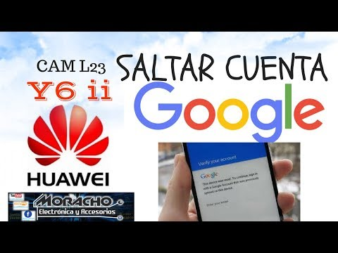 Quitar Cuenta En Huawei Y6 ii  - Bypass Google Account