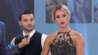 Con mucha tensión el jurado evaluó el tango de Agustín Casanova y Flor Vigna