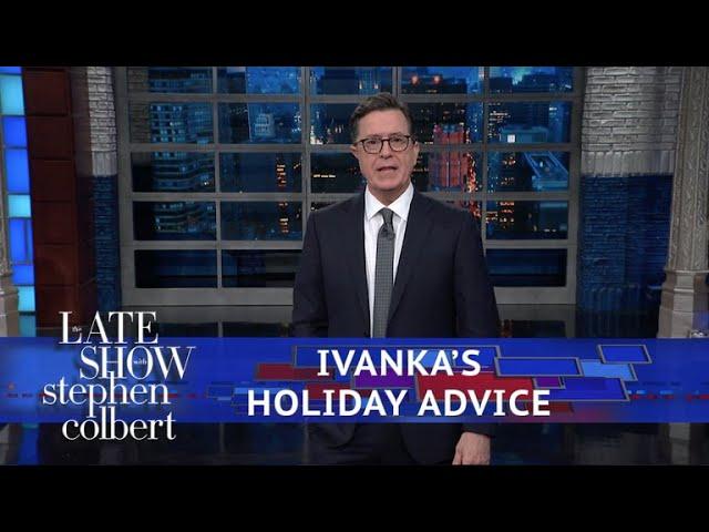 Ivanka Trump's Thanksgiving Centerpiece: A Giant Clam