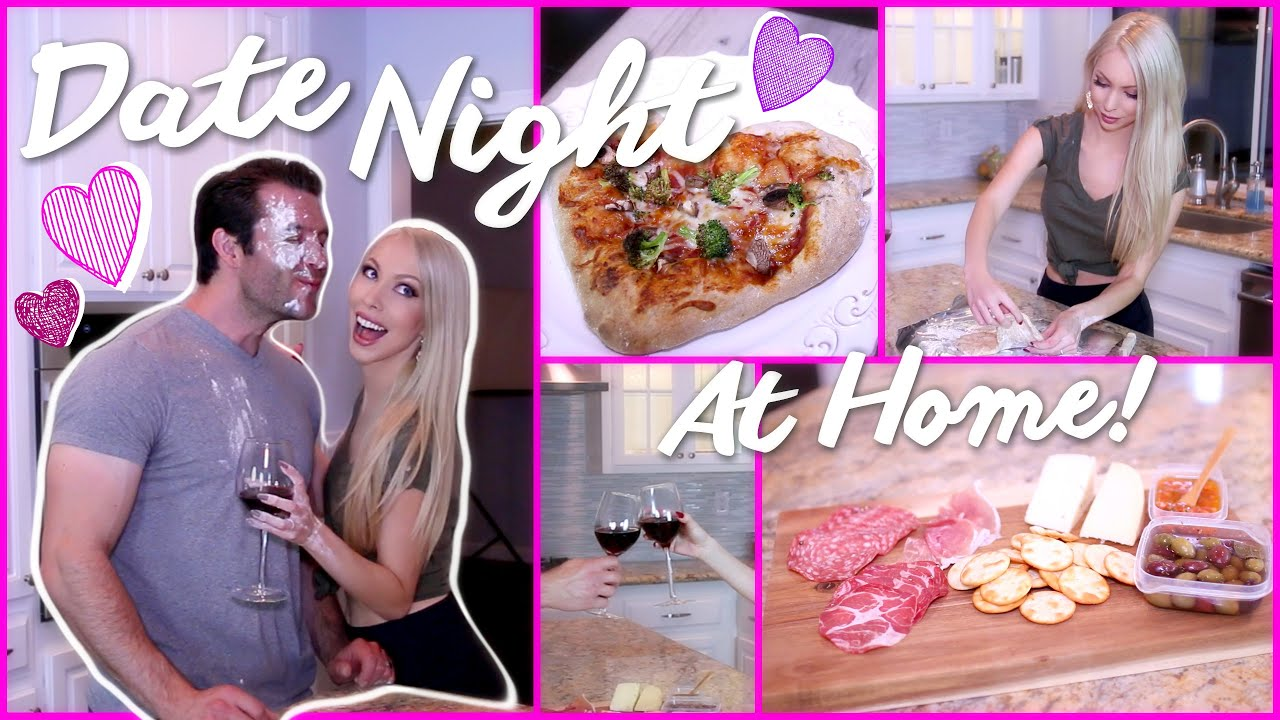 Diy date night at home youtube for Easy romantic dinners to make at home