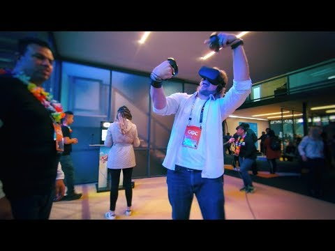 ✔ Welcome to GDC 2018 - Virtual Reality Is Everywhere!