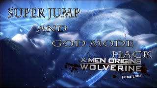 X-Men Origins Wolverine Super Jump & God Mode Hack