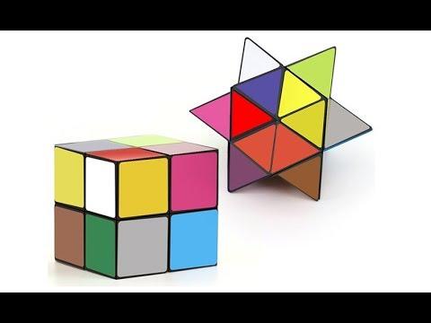 Fidget Infinity Cube Star