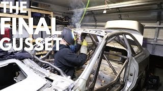 GC8 Rally Car Build - The LAST Gusset for the FIA Roll Cage