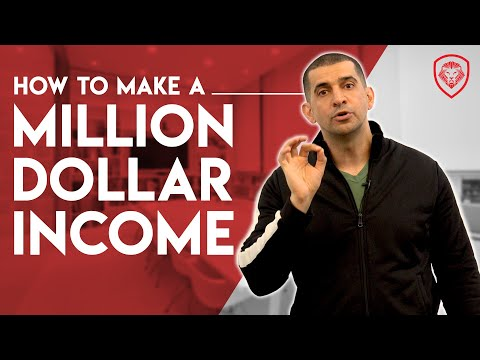 How To Make A Million Dollars A Year