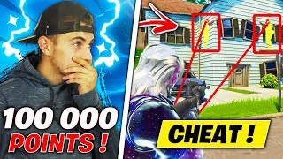 Incredible.. LOOK THESE BIG CHEATER IN ARENE ON FORTNITE! SAISON x