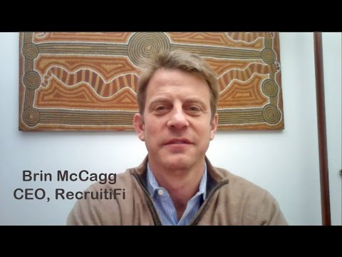 Uber for Jobs - an Interview with Brin McCagg, CEO RecruitiFi
