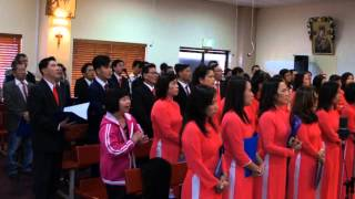 Kinh Vinh Danh - Kim Long - Ca Đoàn Thánh Linh Perth, TÂY ÚC 2015