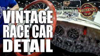 How To Detail Vintage Race Cars! - 1929 Pontiac Racer - Masterson's Car Care