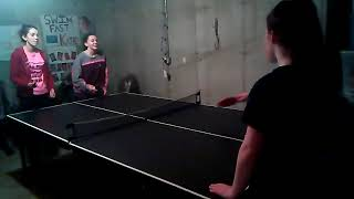 Ping pong with friends