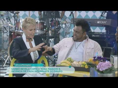 Xuxa revela para integrantes do Sambô o que tinha dentro da famosa nave