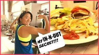 My Biggest IN-N-OUT Diet Secret! | Female Cutting