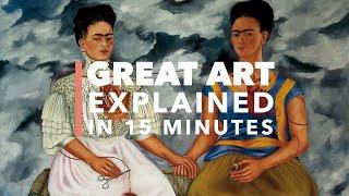 Frida Kahlo's 'The Two Fridas\