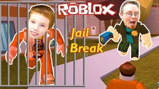 He's Getting Away! Roblox Jailbreak Googaloo Gaming Family Gameplay!