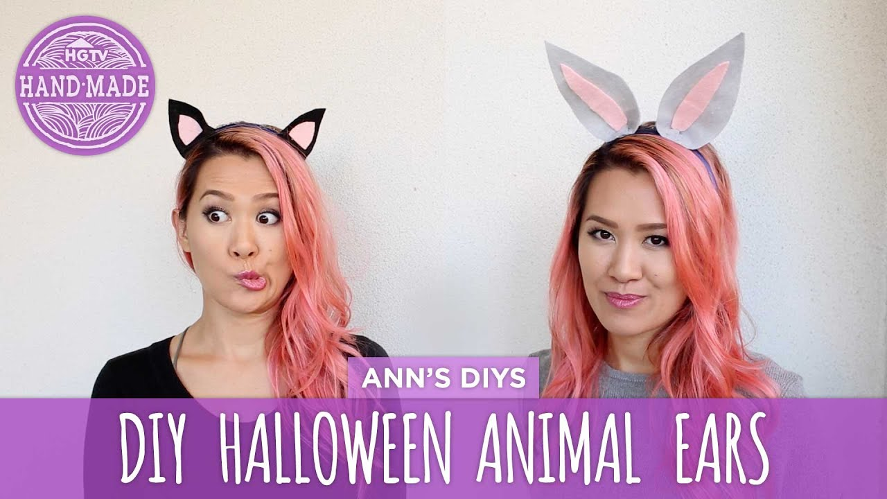 DIY Cute Animal Ears
