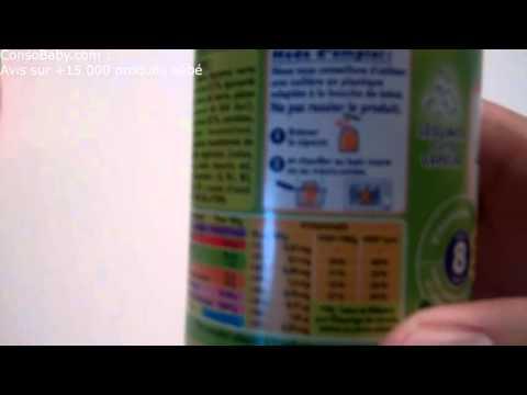 ConsoBaby.com - Mon avis sur le pot Légumes verts pâtes et dinde  de BLEDINA