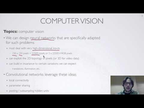 Neural networks [9.1] : Computer vision - motivation
