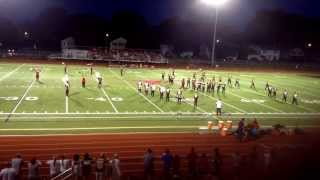 Lutheran West Longhorn Marching Band 2013, 50 Ways to Say Goodbye